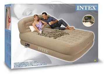 Intex intex luftbett queen supreme rising comfort grau 66944 pools billiger - Pool zum aufpumpen ...