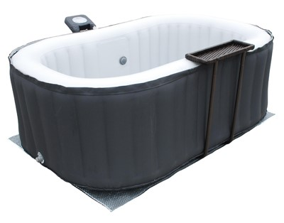 luxus in outdoor whirlpool jacuzzi alpine spa pool ebay. Black Bedroom Furniture Sets. Home Design Ideas