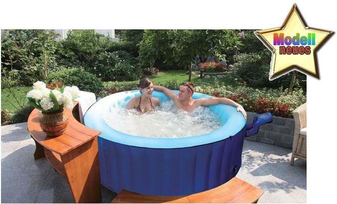 luxus in outdoor whirlpool jacuzzi bubble spa pool neu ebay. Black Bedroom Furniture Sets. Home Design Ideas