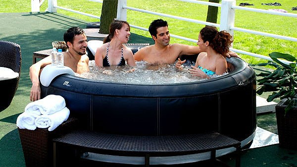 luxus in outdoor whirlpool jacuzzi camaro spa pool neu ebay. Black Bedroom Furniture Sets. Home Design Ideas