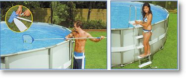 intex ultra frame pool komplett set 549x132 eco 54926 ebay. Black Bedroom Furniture Sets. Home Design Ideas