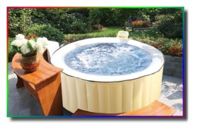 exklusives holzset whirlpool umrandung tisch f r outdoor whirlpools ebay. Black Bedroom Furniture Sets. Home Design Ideas