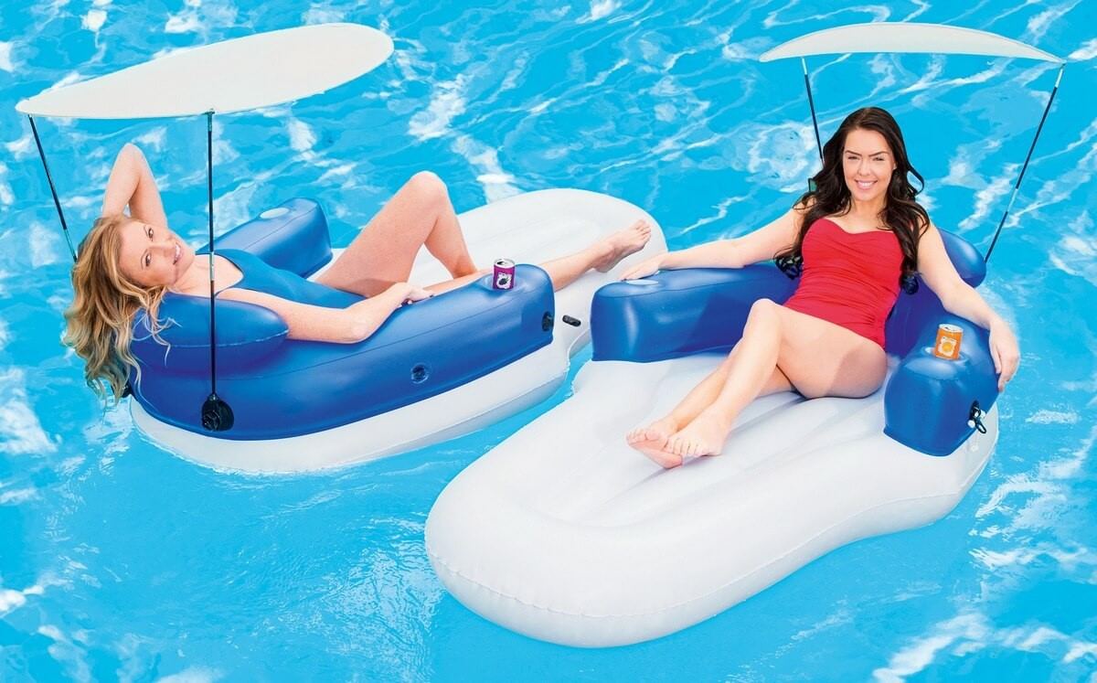 Bestway Coolerz Double Lounge Schwimmsessel 43132