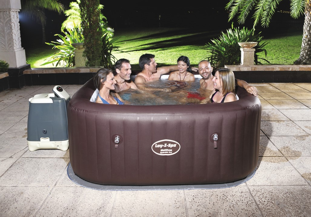 Bestway Premium Whirlpool Hydrojet Pro Malidives 54173