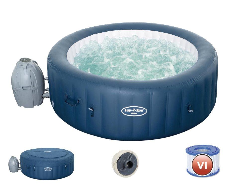 Bestway Whirlpool Lay-Z-SPA Milan WiFi 54184