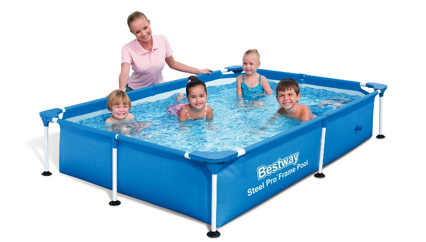 Bestway Splash Jr. Frame Pool 221x150x43cm 56401