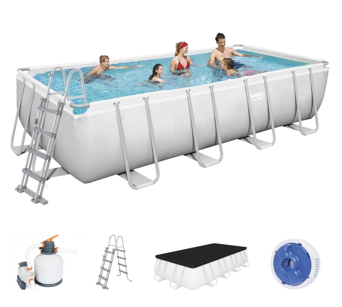Bestway Power Steel Frame Pool Set 549 x 274 + Sandfilter 56466