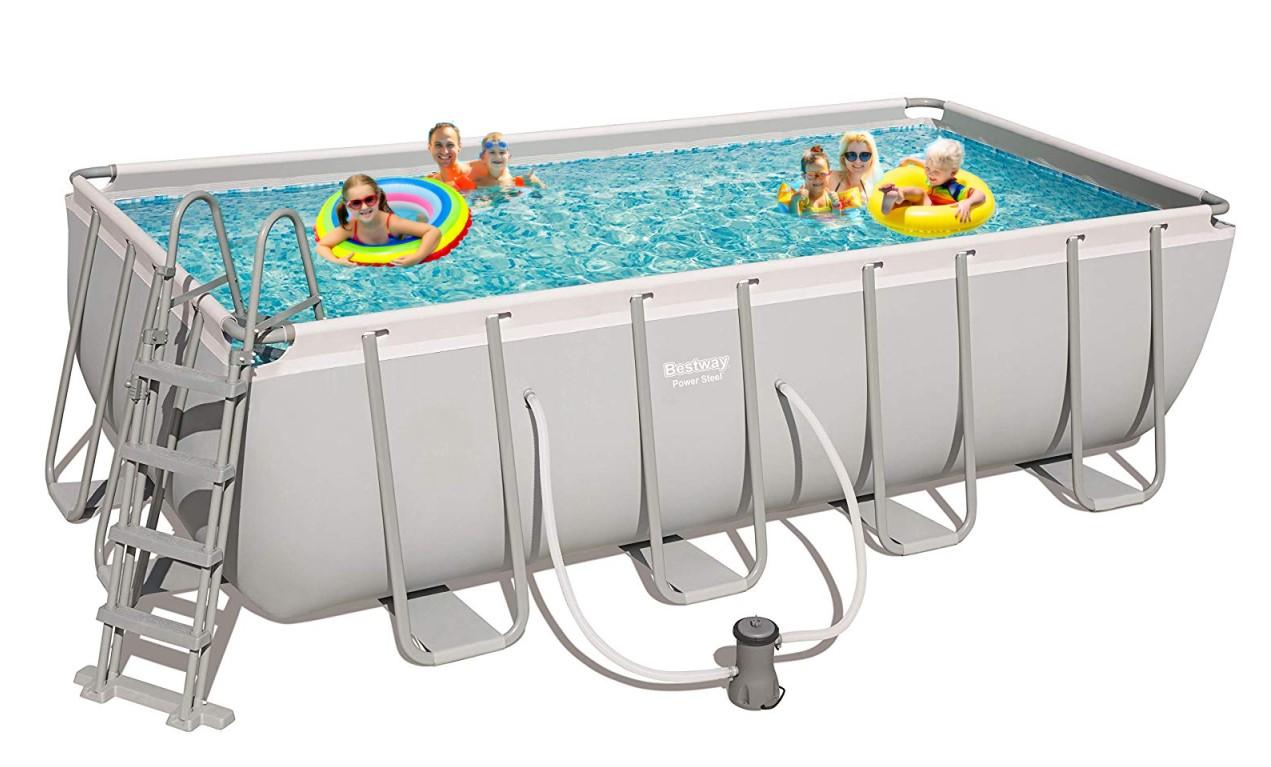 Bestway frame pool set 488 x 244 56670 ebay for Bestway pool ersatzteile