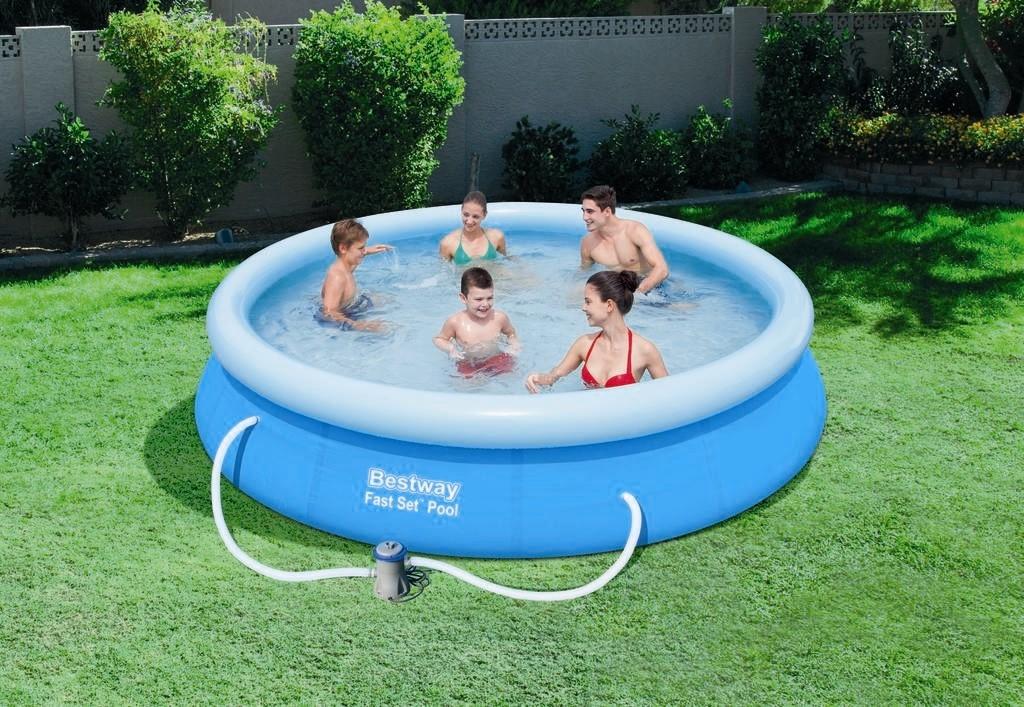 Bestway Fast Set Pool 366x76cm Pumpe 57112 Ebay