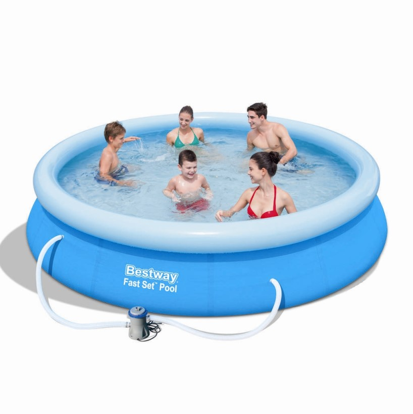 Bestway Fast Set Pool 366x76cm + Pumpe 57274 / 57112