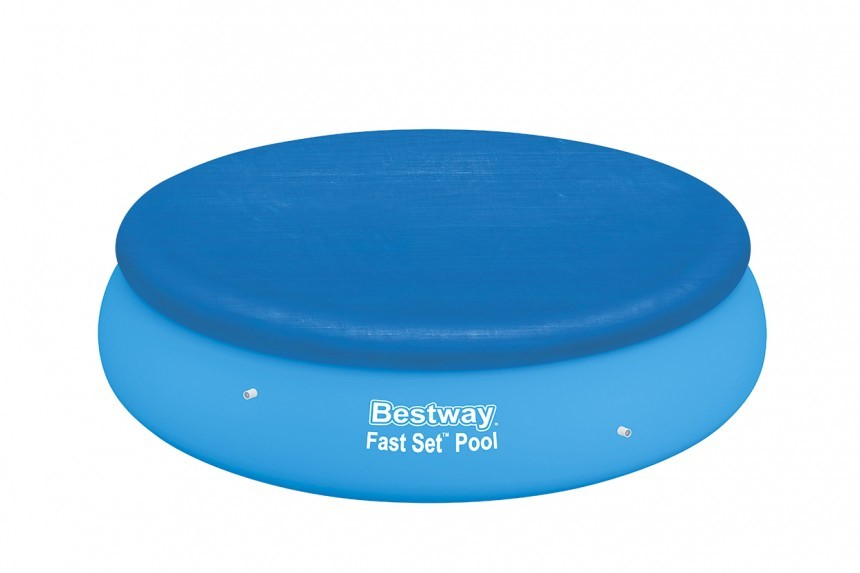 Bestway Abdeckplane 244 cm für Fast-Set Pools BW-58032