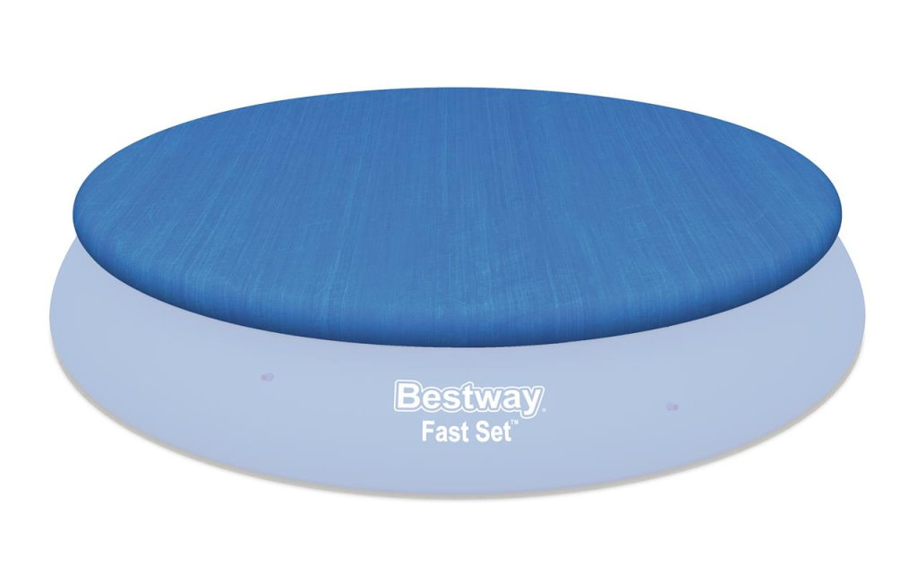 Bestway Abdeckplane 457 cm für Fast-Set Pools BW-58035