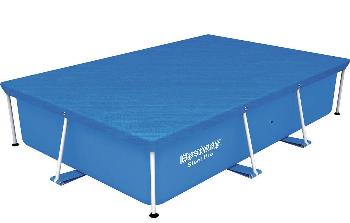Bestway Abdeckplane 259x170cm für Frame Pools 58105
