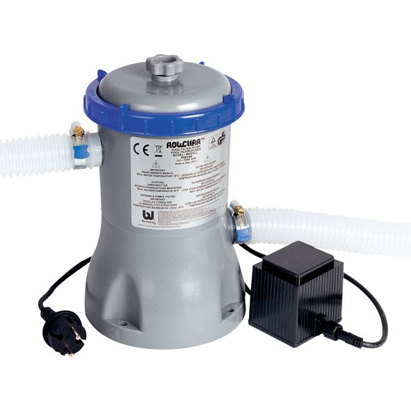 """Bestway Filterpumpe """"Flowclear"""" 3028 L/H 58386 / 58117 GS"""