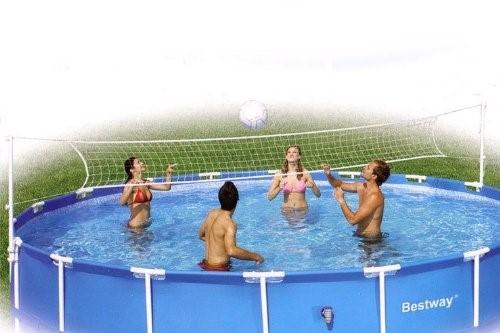 Bestway Volleyballset für 549er Frame Pools 58179