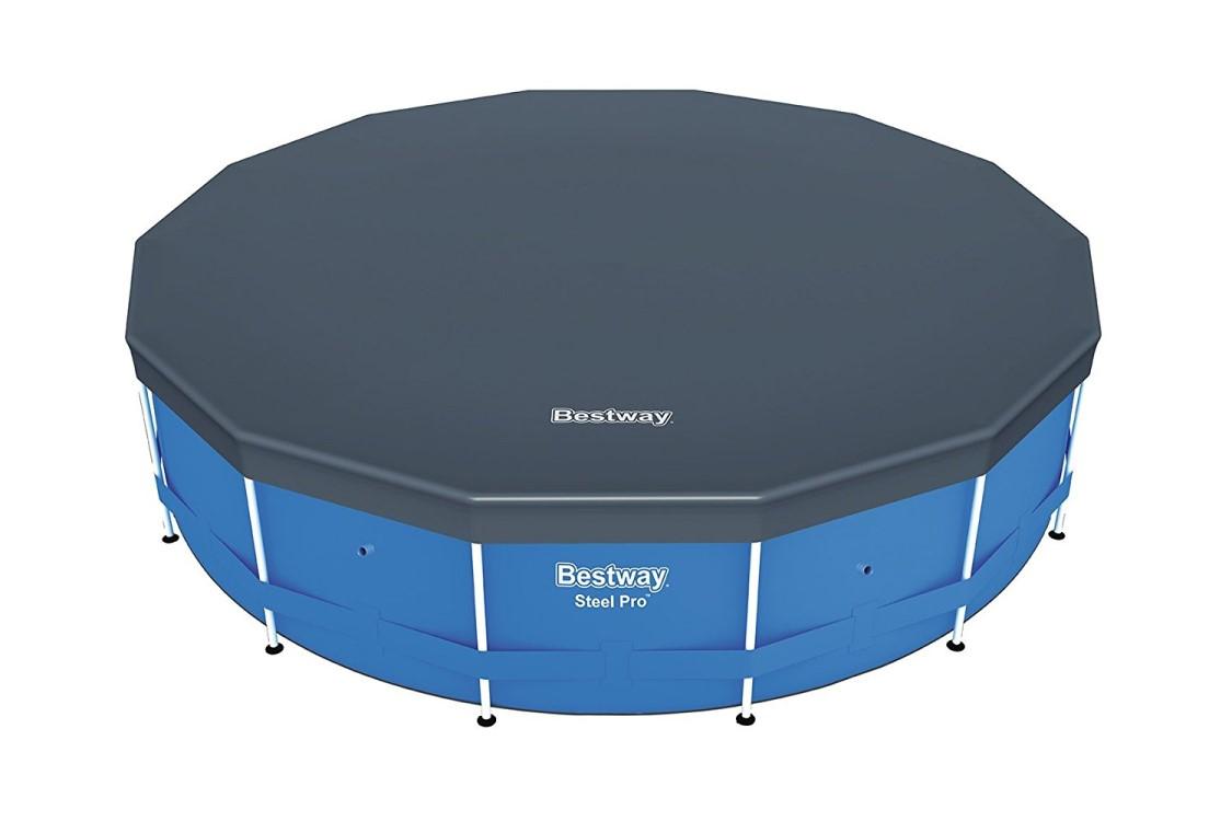 Bestway metal frame pool komplett set 549x122 56462 ebay for Bestway pool ersatzteile