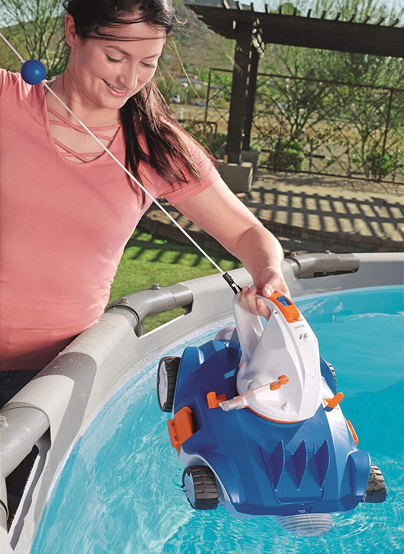 Bestway flowclear aquatronix vacuum akku pool roboter for Bestway pool ersatzteile