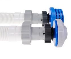 Adapter f r filterpumpen 2er set 10722 - Bestway pool mit sandfilteranlage ...