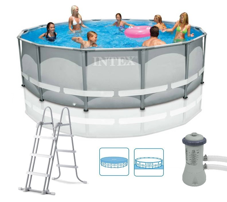 Intex Ultra-Metal-Frame Pool-Set 427x107 26310   eBay