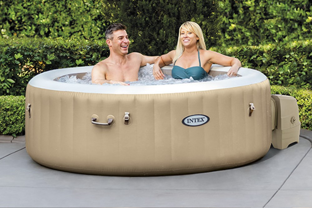 Whirlpool PureSpa Intex SPA Bubble Therapy + Kalkschutz 28476