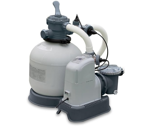Intex Sandfilter + Chlorinator Kombination 56m³ 28680