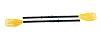 INTEX universal Ruder / Paddelset Gelb 59623