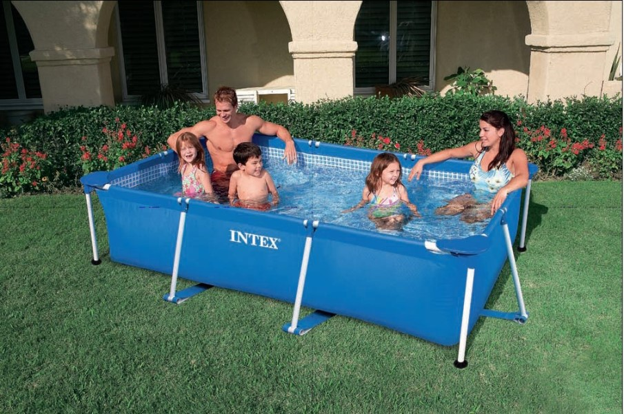 INTEX Swimming Pool Family Frame 300x200x75cm 28272